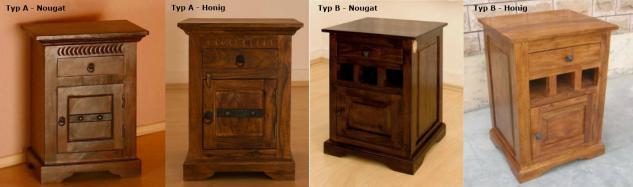 """Massivholz Bett """"Oxford"""" Holzbett Farbe nougat oder honig aus edlem massiven Akazienholz günstig - Vorschau 4"""