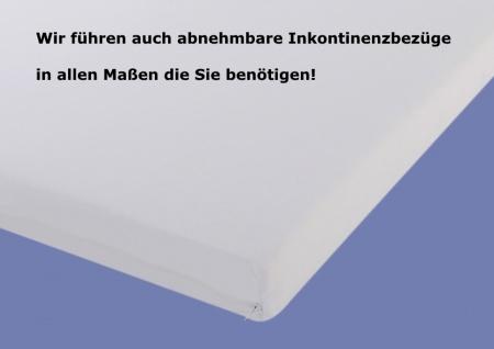 Inkontinenz Teflon Matratze Höhe 16 oder 20 cm, Latex + Kaltschaum mit wasserabweisender + schmutzabweisender Bezug - Vorschau 5