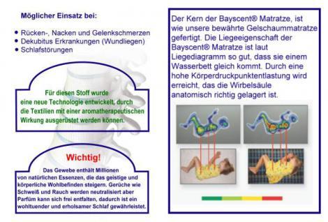 Orthopädische Gel / Gelschaum Kinderbett Baby Matratze 40x90 + 60x120 + 70x140 cm Höhe 14 cm Babymatratze - Vorschau 4