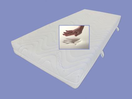 """Viskoelastische Matratze """"Comfort"""" Höhe 18 + 22 cm, 7 cm Visco / Visko RG 60 Alternative zu Kaltschaum günstig - Vorschau 1"""