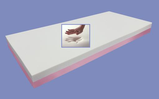 """Viskoelastische Matratze """"Dream Edition"""" Höhe 18 + 22 cm, 7 cm Visco / Visko RG 85 gegen Rückenschmerzen günstig - Vorschau 5"""