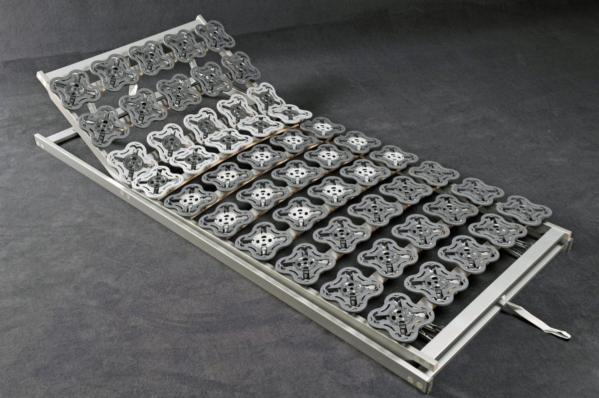 7 Zonen Teller Lattenrost Tellerfeder Lattenrahmen \