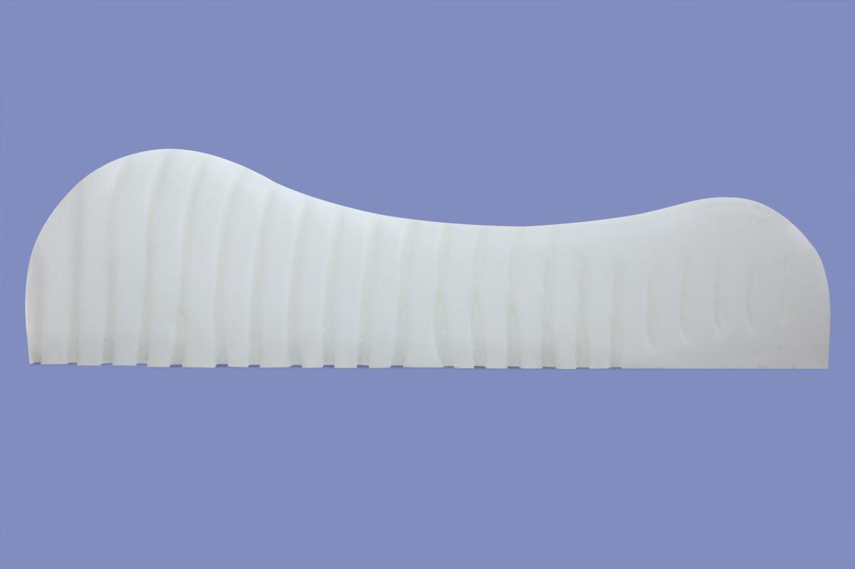 orthop disches gel gelschaum wellen kopfkissen nackenst tzkissen wave kissen 80x40x11 cm. Black Bedroom Furniture Sets. Home Design Ideas