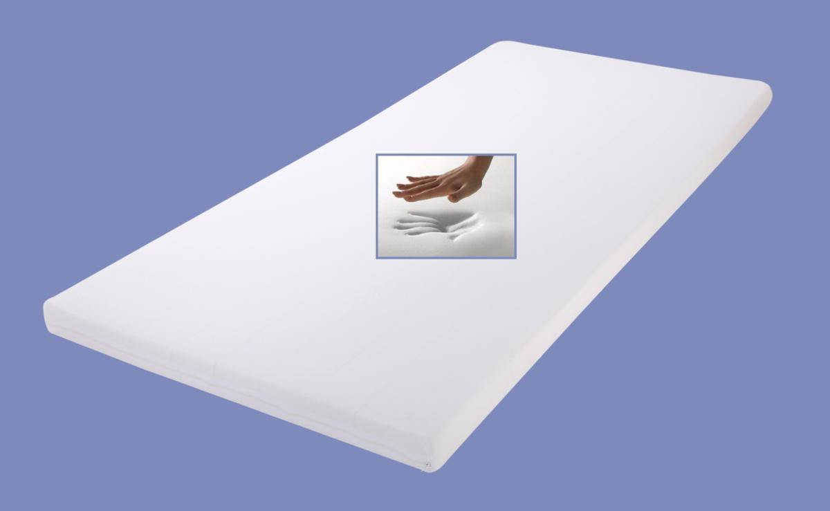 viskoealstische matratzenauflage relax h he 4 5 7 cm visco topper visko auflage f r. Black Bedroom Furniture Sets. Home Design Ideas