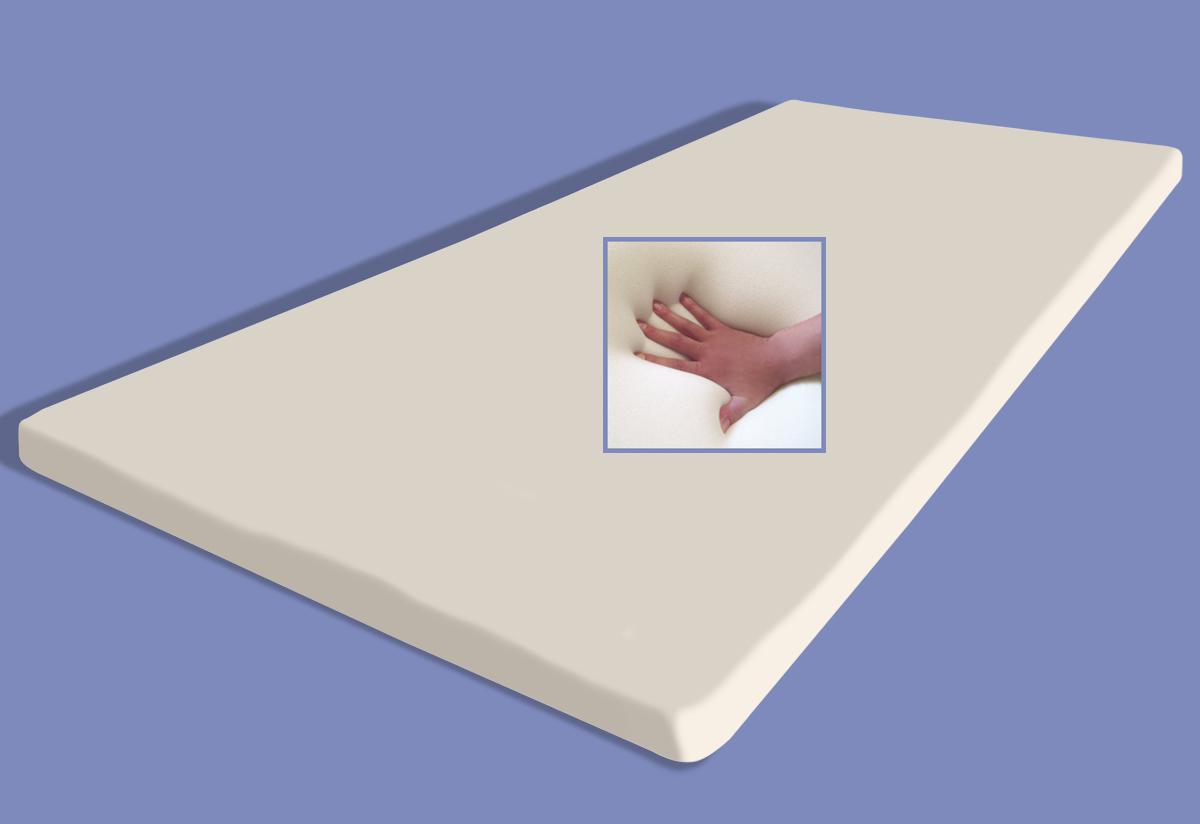 gel gelschaum matratzenauflage memory foam h he 5 cm rg 60 matratzen topper auflage f r. Black Bedroom Furniture Sets. Home Design Ideas