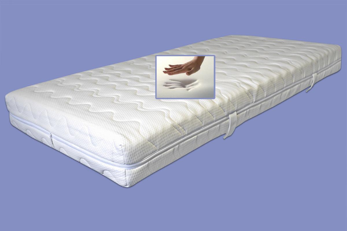 viscoelastische 7 zonen matratze variation h he 22 cm 6 cm visco visko rg60 mit 12. Black Bedroom Furniture Sets. Home Design Ideas