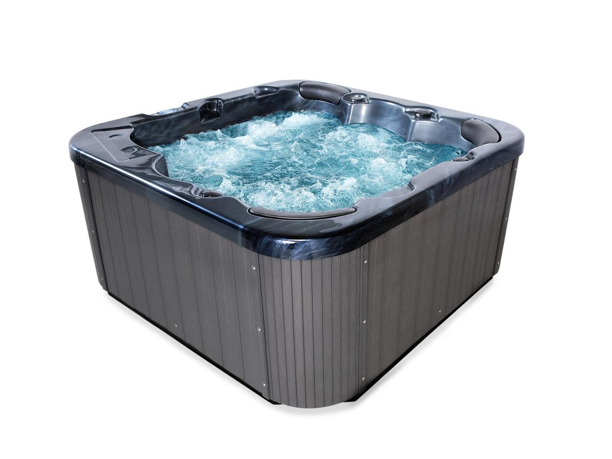 outdoor whirlpool hot tub spa zeus mit 44 massage d sen heizung ozon f r 5 6 personen. Black Bedroom Furniture Sets. Home Design Ideas