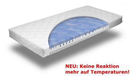 Gel Gelschaum Matratze Blue Sensation KEINE REAKTION AUF TEMPERATUR Gelmatratze Härtegrad 2 oder 3