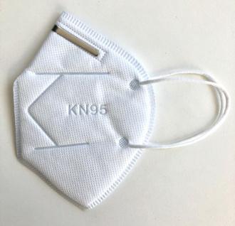 Atemschutzmaske Mundschutz Maske KN95 / FFP2 Atemmaske Gesichtsmaske Schutzmaske Mundmaske Nasenmaske - Vorschau 2