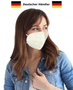 Atemschutzmaske Mundschutz Maske KN95 / FFP2 Atemmaske Gesichtsmaske Schutzmaske Mundmaske Nasenmaske