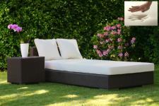 Visco / Visko / PU Liegenauflage Polsterauflage Auflage für Sonnenliege Behandlungsliege Gartenliege