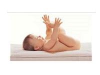 Baby Matratze Kinderbett Kindermatratze 60x120 oder 70x140 cm mit Trittkante Höhe 10 cm Babymatratze günstig