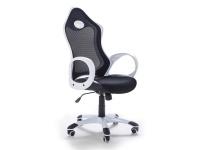 "Designer Chefsessel Bürosessel ""New Age"" Farbe schwarz / weiss oder lila Bürostuhl Computersessel"