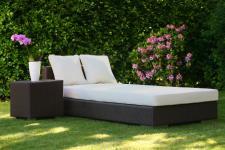 Kunstleder Bezug für Liegenauflage Polsterauflage Auflage Sonnenliege Behandlungsliege Gartenliege Kunstlederbezug