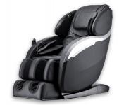 Massagesessel Deluxe V2 Zero Gravity schwarz Fernseh Sessel mit Rollentechnik Heizung Fußmassage Armmassage