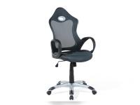 "Designer Chefsessel Bürosessel ""New Age"" Farbe grau Bürostuhl Computersessel"