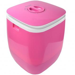 Syntrox 2, 0 Kg Waschmaschine Miniwaschmaschine mit Timer und Schleuder 150 W pink