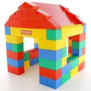 Wader Haus aus XXL Bausteine, 134-tlg.