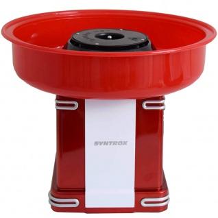 Syntrox Germany Zuckerwattermaker Zuckerwattemaschine Zuckerwatteautomat ZWM-500W Oregon - Vorschau 4