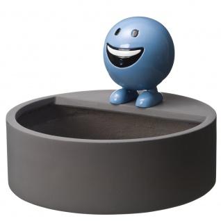 Ubbink Wasserspeier BE HAPPY Set, Polystone, H29 x Ø25 cm, blau, inkl. Pumpe und Becken