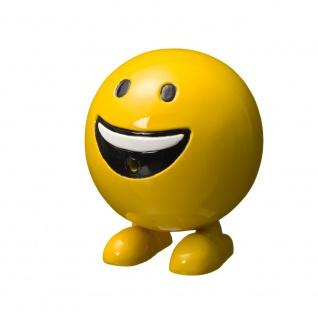 Ubbink Wasserspiel BE HAPPY - Polystone, H19 x Ø16 cm, gelb