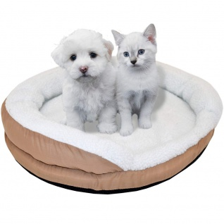 Syntrox Beheizbares Tierbett Hundebett Katzenbett Schlafplatz medium 61x12cm