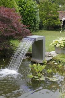 Ubbink Wasserfall STRAIGHT Design mit LED