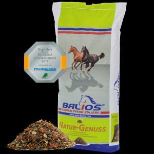 Balios Natur-Genuss Strukturfutter 15 Kg
