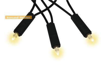 LED Lichterkette Kerzen für Innen 5 Meter warmweiß