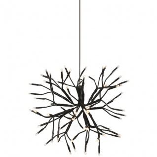 LED-Außenstern mit 64 warmweißen LEDs Ø 35cm