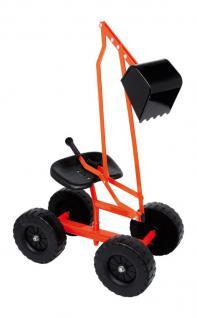 Sandbagger Sitzbagger Sandspielzeug Bagger mit Räder - Vorschau 3