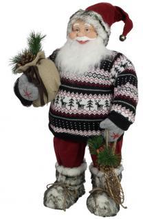 Weihnachtsmann Norwin 80cm, Nikolaus