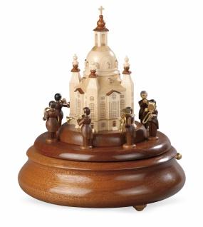 Motivplattform für Elektr. Spieldosen Blechbläserensemble L.Güttler An D.Frauenkirche, 15cm