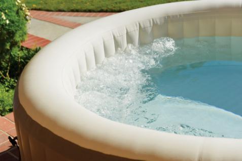 Aufblasbarer Whirlpool Thermo-Sprudelbad Pure SPA 77 Bubble mit Kalkschutzsystem - Vorschau 3