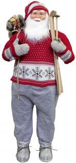 Weihnachtsmann Santaclaus Nikolaus Orvar 150 cm