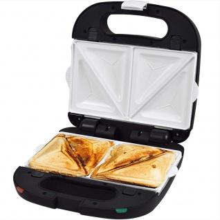 Syntrox Sandwichmaker mit keramisch beschichteten Backplatten - Vorschau 2