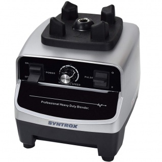 Syntrox Küchenmixer Standmixer BPA-frei, 1500 Watt, 40000 U/Min, 2 Liter, 6 Edelstahlklingen - LCD-Display - Zerkleinerer - Icecrusher - Getreidemühle - Vorschau 5