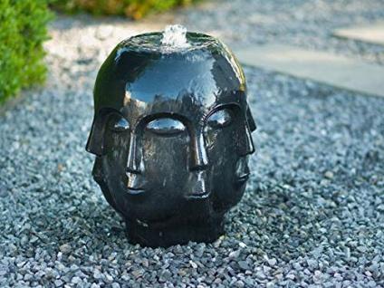 Ubbink ALMERIA - Wasserspiel Terrazzo-Kopf mit LED