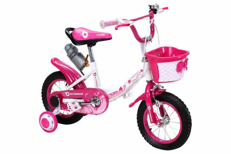 Kinder Fahrrad Daisy 12 Zoll Pink, Mädchenfahrrad - Vorschau 2