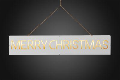 LED-Bild Merry Christmas 11 BS warmweiß/weiß innen