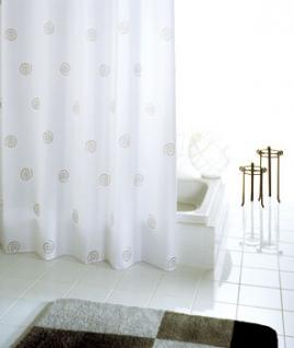 Duschvorhang Batex Stripes Textil 180 X 200 Cm Weiss Kaufen Bei