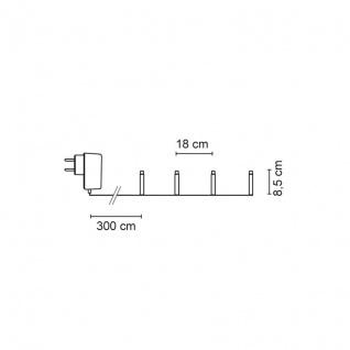 Konst Smide LED-Minilichterkette Papiertannenbäumchen mit 12 warmweißen LEDs - Vorschau 3