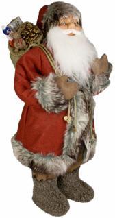 Weihnachtsmann Santaclaus Nikolaus JULIUS 60 cm