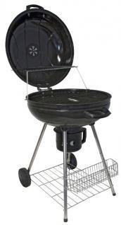 Holzkohlegrill BBQ Barbecue Rundgrill Grill mit Räder