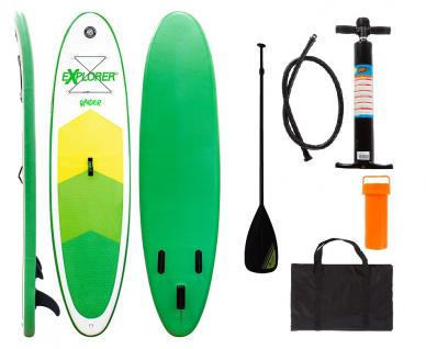SUP Stand-Up-Paddle-Set Raider inkl. Paddel, Pumpe, Tasche