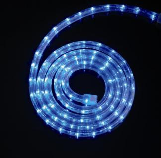 LED Lichtschlauch LED-Flexlicht 6 Meter blau, 36 LEDs je m