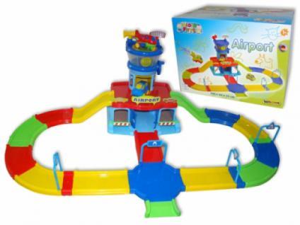 Wader First Play City FLUGHAFEN mit Strasse, Flugzeug und Autos - Vorschau 2