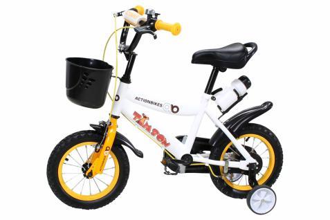 Kinder Fahrrad Timson 12 Zoll Gelb