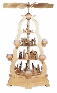 Müller-Kleinkunst aus dem Erzgebirge® seit 1899 Bogenpyramide Heilige Geschichte