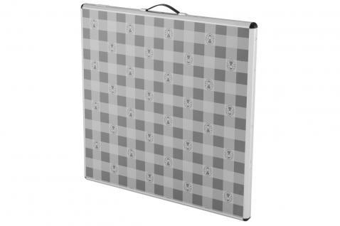 Campingtisch quadratisch 80 x 80 cm antimikrobiell - Vorschau 2